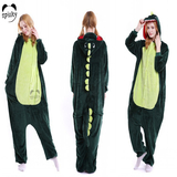Green Crocodile Pajamas