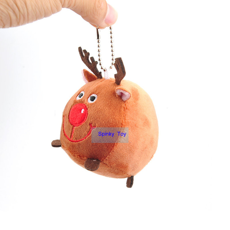 Plush Deer Toy Keychain