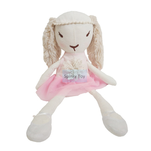 Baby Rabbit Soft Toy With Dress