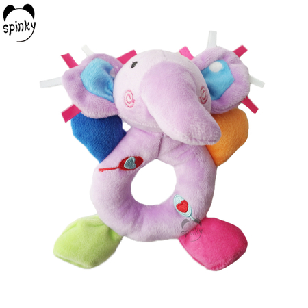 Baby Rattle Toy Plush Elephant