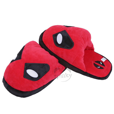 Plush Spiderman Slippers