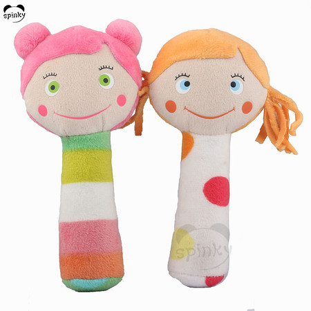 Baby Rattle Toy Plush Girl