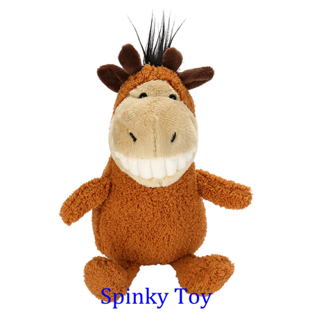 Smiling Toothy Plush Toy - Giraffe