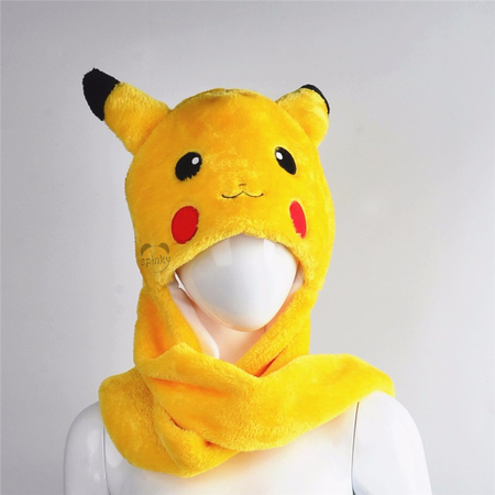 Pikachu Plush Winter Hat