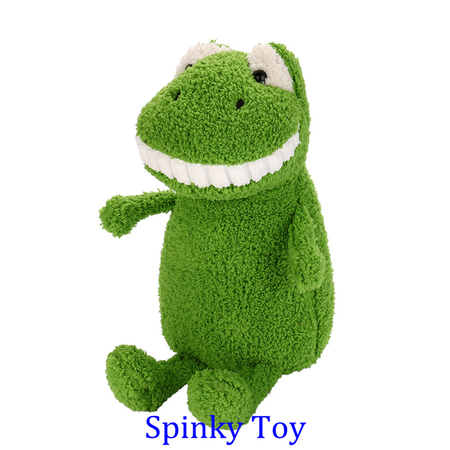 Smiling Toothy Plush Toy - Frog