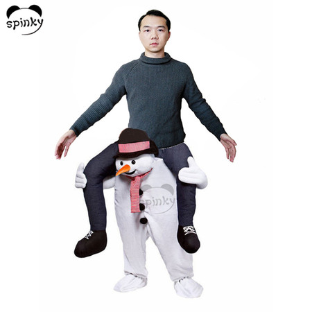 Carry Me Fancy Dress Pants Snowman