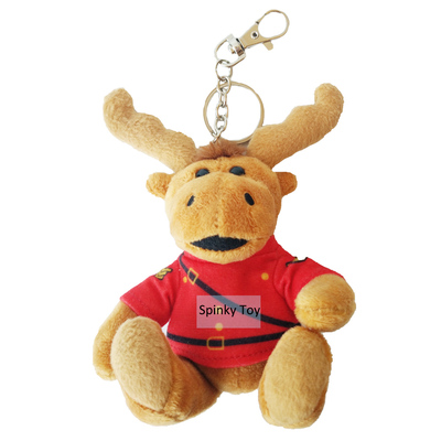 Plush Deer Keychain