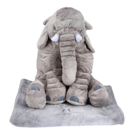 Elephant Baby Pillow With Blanket