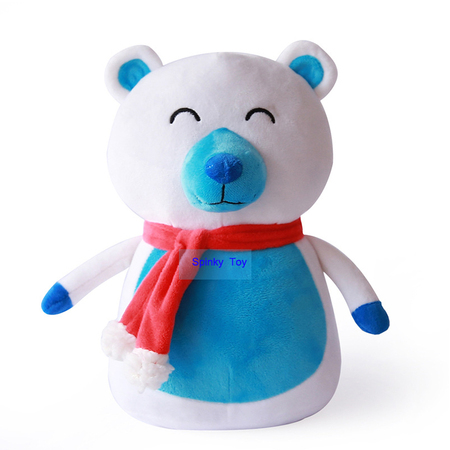 Plush Stuffed Bear For Christmas