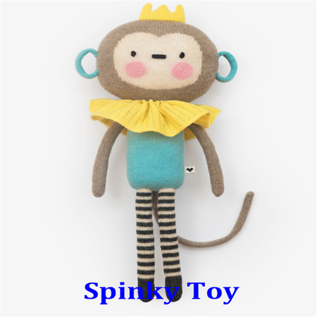 Knit Toy Monkey