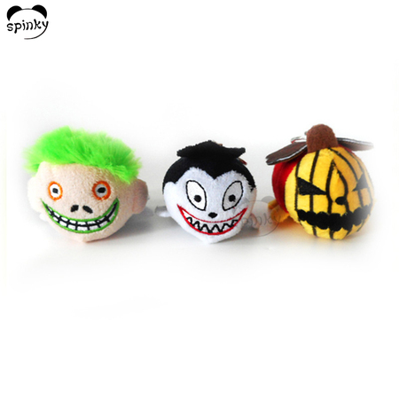 Halloween Backpack Plush Keychains