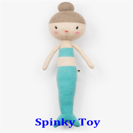 Knit Mermaid Toy
