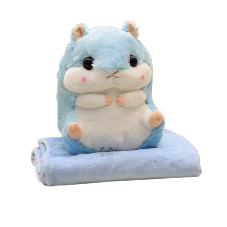 Hamster Pillow With Blanket