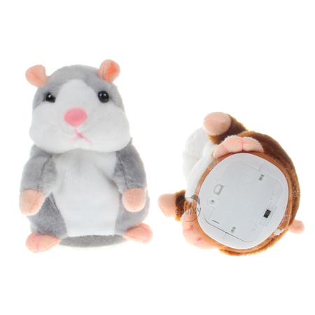 15CM Plush Toys Talking Hamster