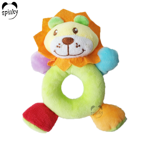 Baby Rattle Toy Soft Lion