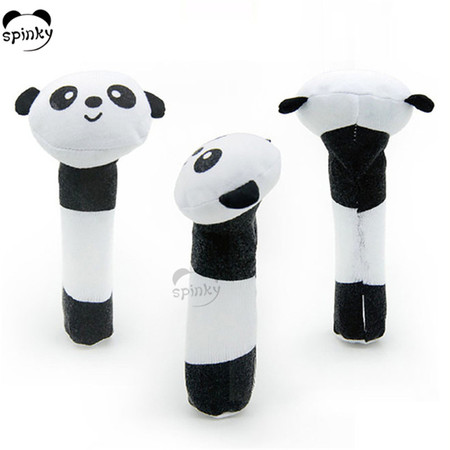 Baby Rattle Toy Soft Plush Panda