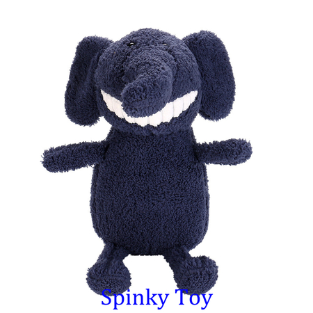 Smiling Toothy Plush Toy - Elephant
