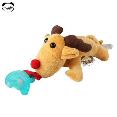 Baby Pacifier With Soft Deer Toy