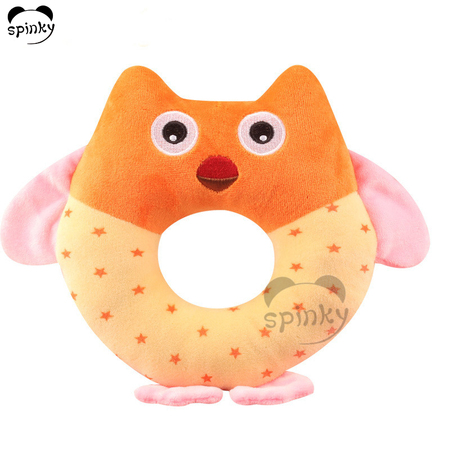 Baby Plush Rattle Toy Owl