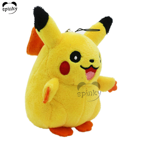 Plush Stuffed Pikachu Keychain
