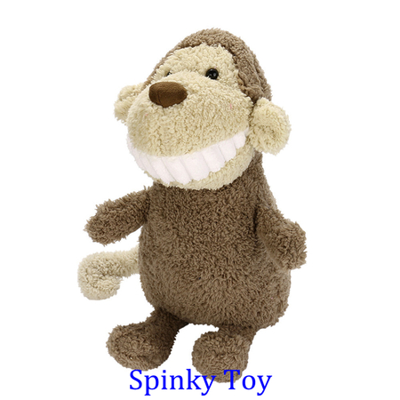 Smiling Toothy Plush Toy - Monkey