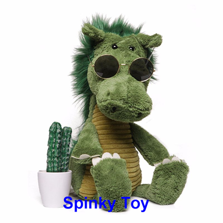Forest Toy Plush Crocodile