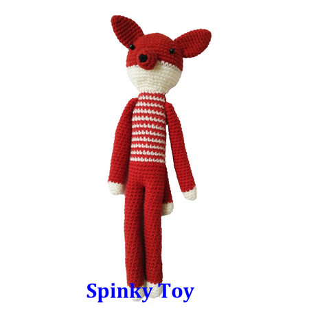 Knit Toy Fox