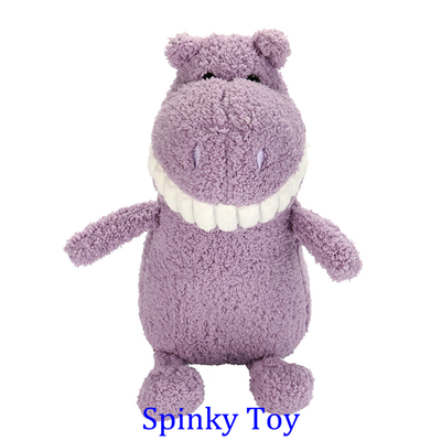 Smiling Toothy Plush Toy - Hippo