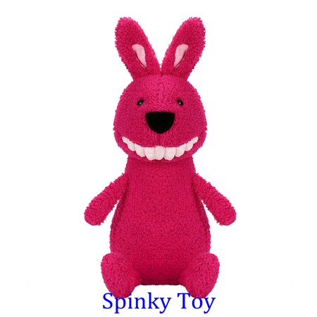 Smiling Toothy Plush Toy - Rabbit