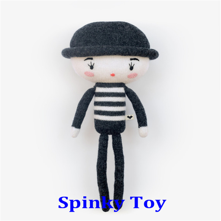 Knit Toy Boy With Hat