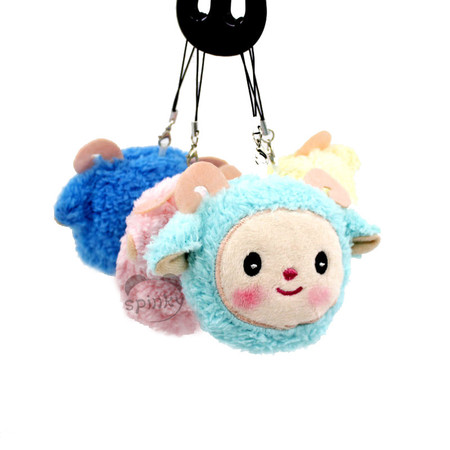 Plush Sheep Keychain Toy
